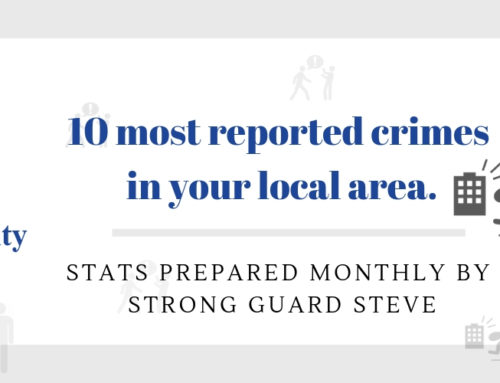 10 MOST REPORTED CRIMES IN ST HELENS – NOVEMBER 2018
