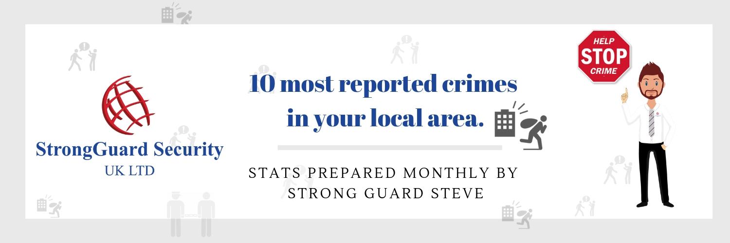 10 MOST REPORTED CRIMES IN ST HELENS - OCTOBER 2018